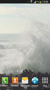 Big Ocean Waves Live Wallpaper