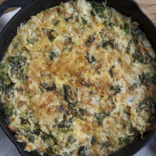 Easiest Potato And Broccoli Frittata