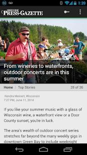 Press-Gazette - screenshot thumbnail