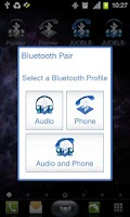 Screenshot of Bluetooth Pair