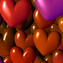 Hearts 3D Full Live Wallpaper logo