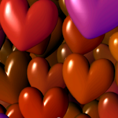 Hearts 3D Full Live Wallpaper