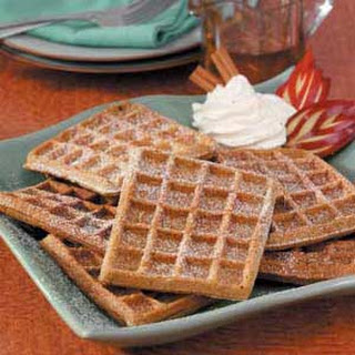 Gingerbread Buttermilk Waffles