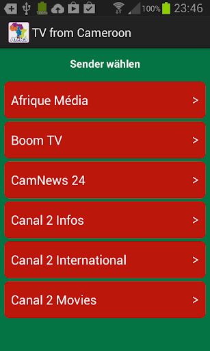 TV from Cameroon