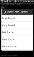 Screenshot of L-System 2D Fractal Toolkit