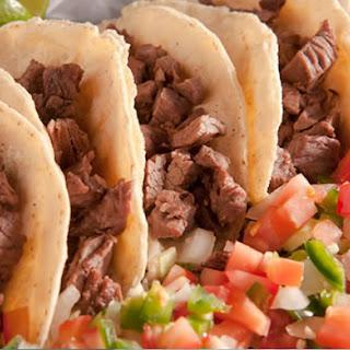 Tacos Asada (Steak Tacos).