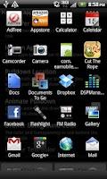 Screenshot of Pulldown App Drawer