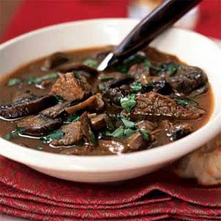 Wild Mushroom and Beef Stew