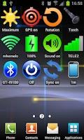 Screenshot of Widget Bluetooth