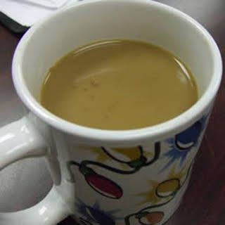 Almond Coffee Creamer.