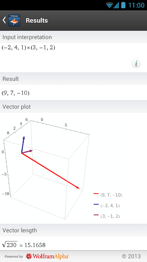Linear Algebra Course App - screenshot