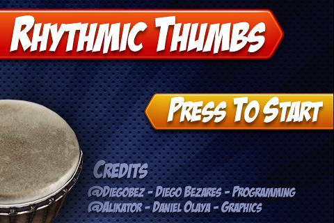 Rhythmic Thumbs Free - screenshot