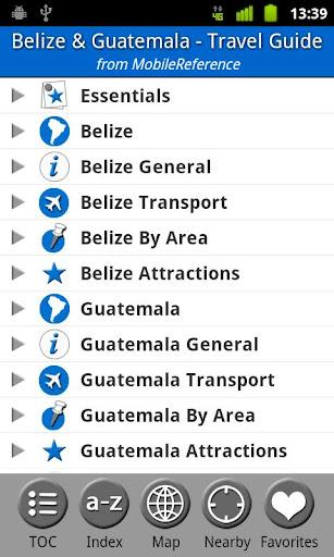 Belize Guatemala -FREE Guide
