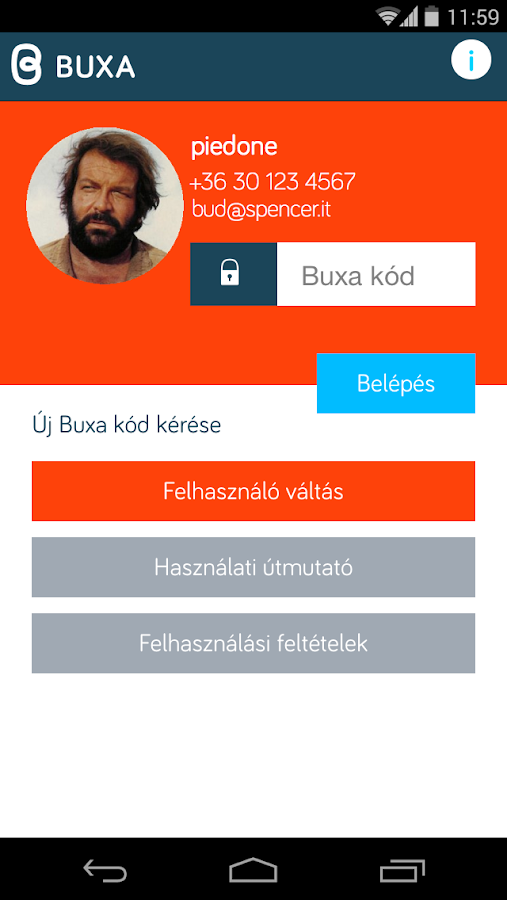 Buxa - screenshot