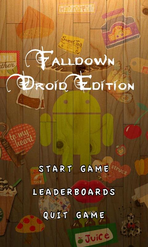 Falldown Droid Edition - screenshot