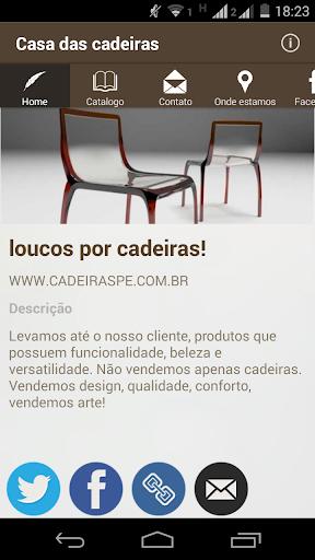 CASA DAS CADEIRAS