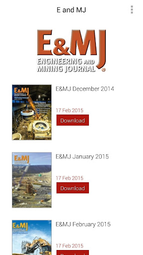 Engineering Mining Journals