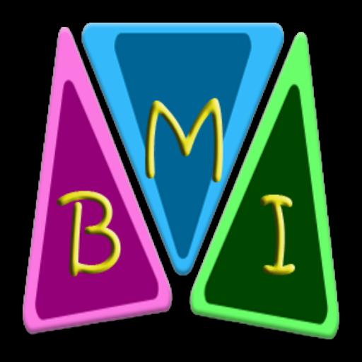BMI & WAIST CheckUp ENG 健康 LOGO-阿達玩APP