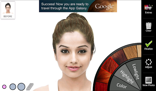 Superb Hair Color Android Apps On Google Play Short Hairstyles Gunalazisus
