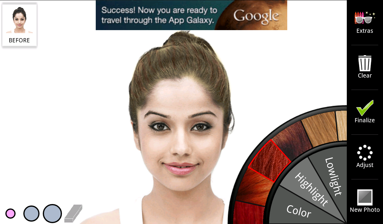 Magnificent Hair Color Android Apps On Google Play Short Hairstyles Gunalazisus