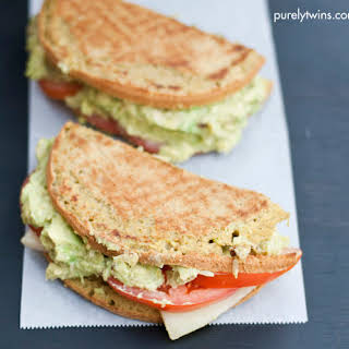 Grown-up Guacamole Grilled Cheese Sandwich.