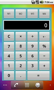 Calculator Widget Lite- screenshot thumbnail
