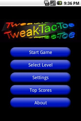 Tic-Tac-Toe Tweaks - screenshot