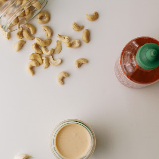 Sriracha Cashew Cream Sauce