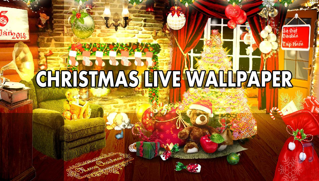 christmas live wallpaper hd android apps on google play