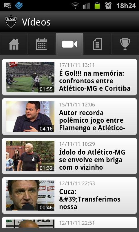 Atlético-MG SporTV - screenshot