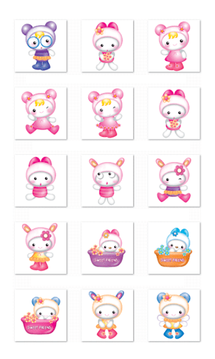 Cute Chat Stickers-LINE