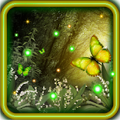 Spring Fireflies livewallpaper