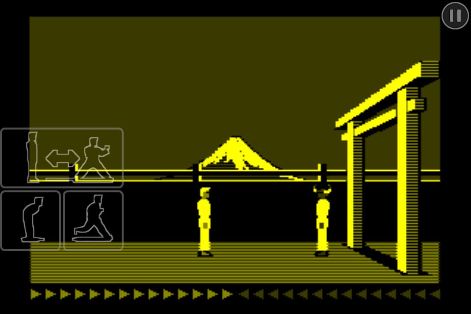 Karateka Classic screenshot #2