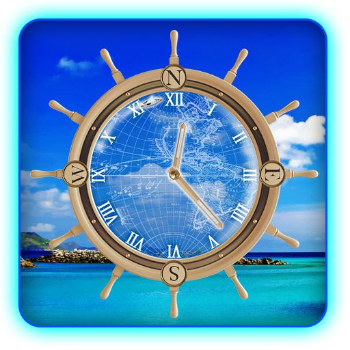 Yacht Travel Compass Clock LWP 個人化 App LOGO-APP試玩
