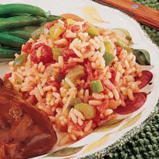 Baked Calico Rice Recipe