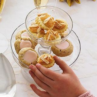 Iced Thumbprint Cookies