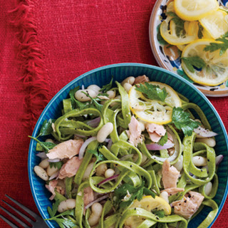 Linguine with Italian Tuna and White Beans