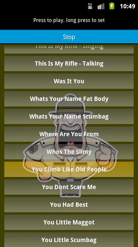 Full Metal Jacket Ringtones - screenshot