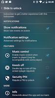 Screenshot of Slide to unlock