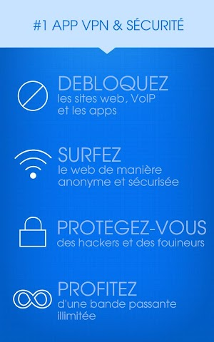 android Hotspot Shield VPN Privacy Screenshot 8