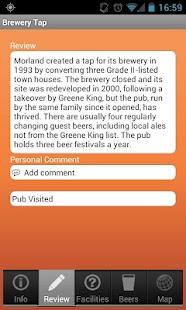CAMRA Good Beer Guide - screenshot thumbnail