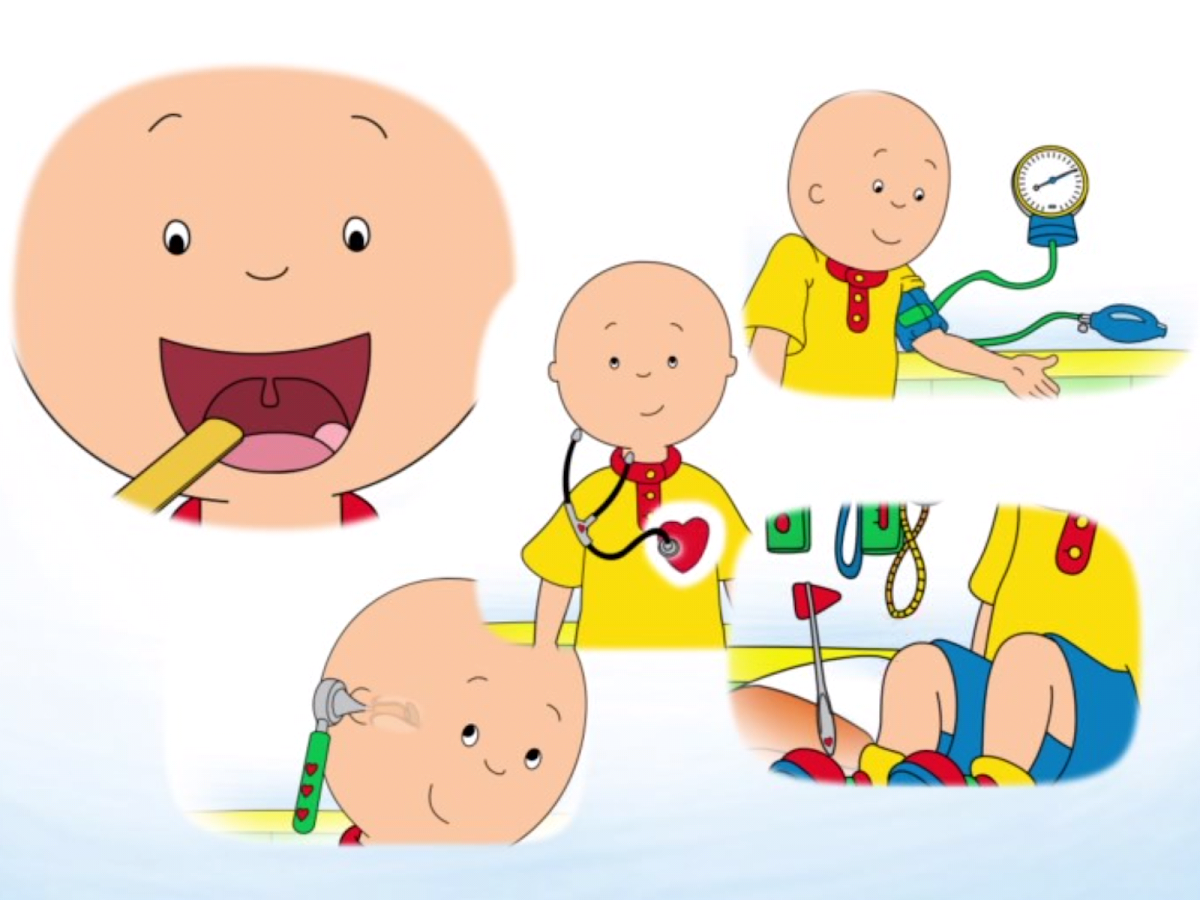 Caillou Check Up - Doctor- screenshot