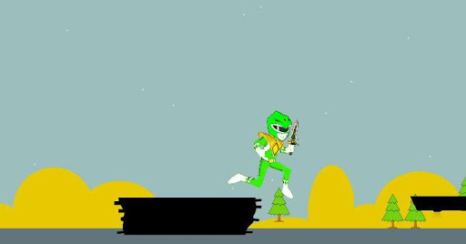 玩免費動作APP|下載Samurai Green Rangers run game app不用錢|硬是要APP