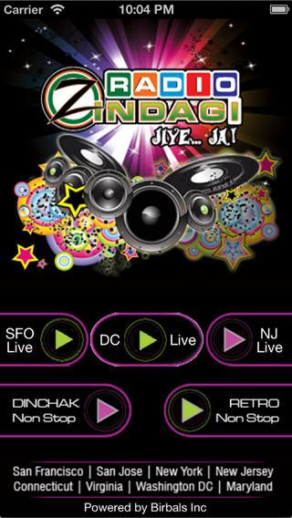 Radio Zindagi: Hindi Radio USA- screenshot