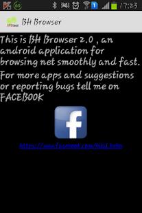 BH Browser - screenshot thumbnail