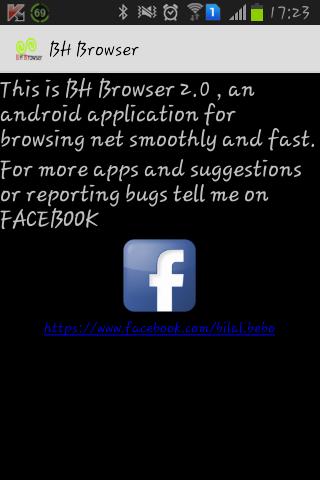 BH Browser - screenshot