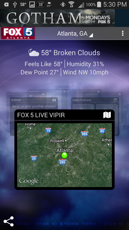 FOX 5 Storm Team- screenshot