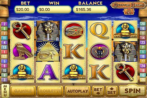 Egyptian Dreams 4 Slots- screenshot