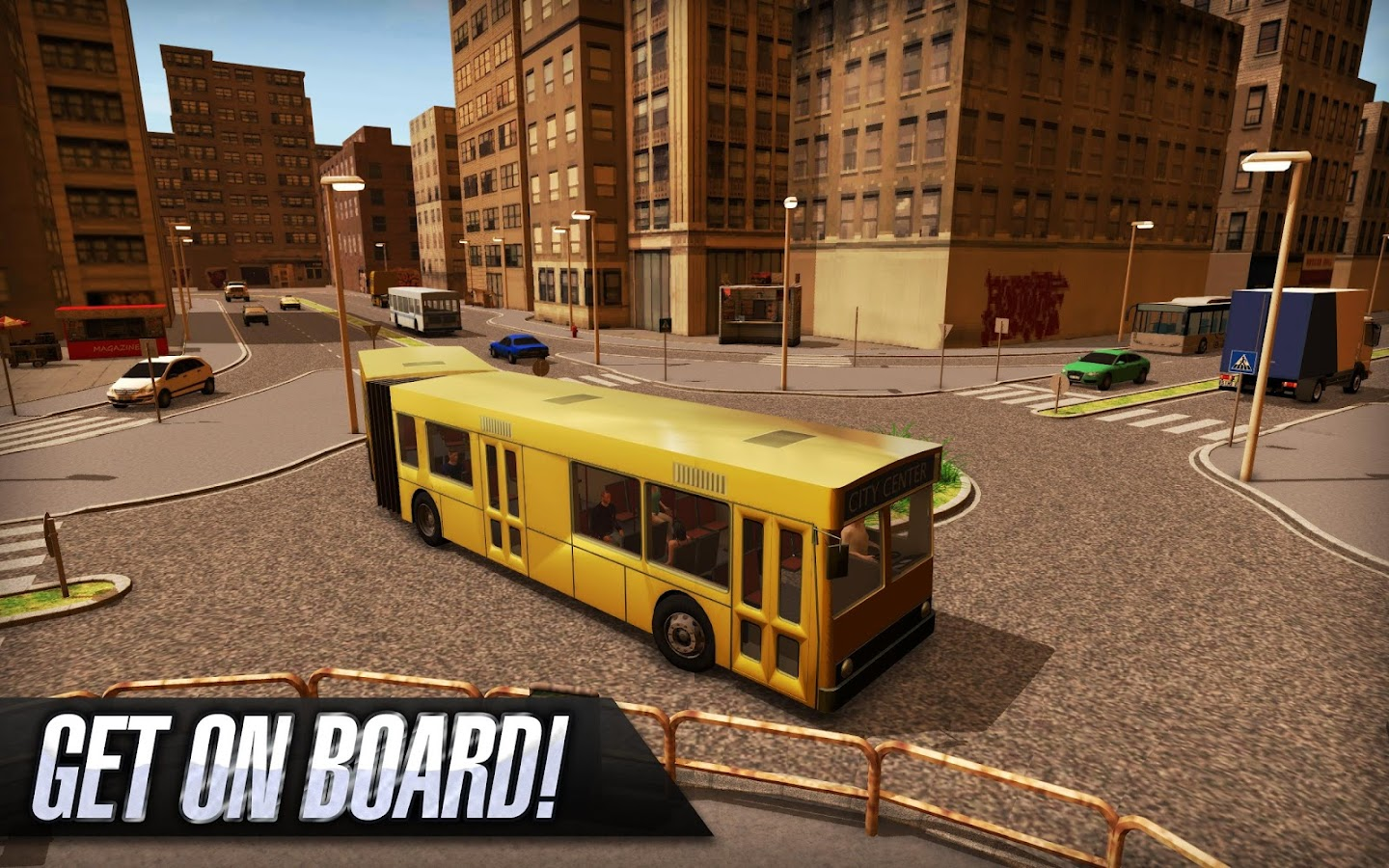 Bus Simulator 2015- screenshot