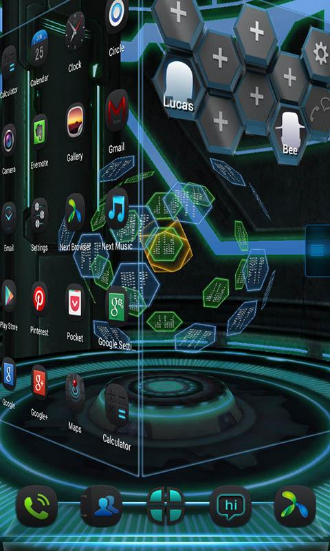 Next technology theme 3d lwp android apps on google play 3d apps free